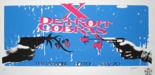 X Detroit Cobras GigPoster